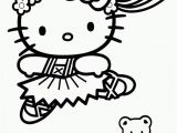 Coloring Pages Hello Kitty Ballerina Ausdruck Bilder Zum Ausmalen In 2020