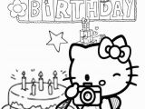 Coloring Pages Hello Kitty Birthday Free Hello Kitty Coloring Pages Happy Birthday Download