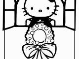 Coloring Pages Hello Kitty Christmas Christmas Hello Kitty Coloring Pages Coloring Home