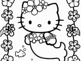 Coloring Pages Hello Kitty Mermaid Hello Kitty Mermaid Kawaii Coloring Page 001