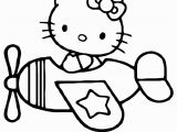 Coloring Pages Hello Kitty Plane Amazingly Fast Transport Airplane 17 Airplane Coloring Pages