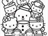 Coloring Pages Hello Kitty Plane Hello Kitty Coloring Page Christmas with Friends with