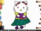 Coloring Pages Hello Kitty Youtube Hello Kitty Coloring Pages How to Draw and Color A Hello Kitty Very Easy