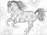Coloring Pages Horses Running Collection Of Realistic Arabian Horse Coloring Pages