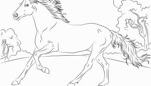 Coloring Pages Horses Running Horses Coloring Pages