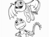 Coloring Pages How to Train Your Dragon 3 Baby Dragons Coloring Page