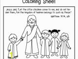 Coloring Pages Jesus Loves Me Jesus Has Time for Me Bible Crafts Let the Little Children