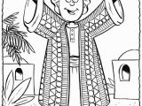 Coloring Pages Joseph and the Coat Of Many Colors Joseph and His Coat Coloring for Sunday School
