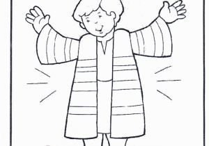 Coloring Pages Joseph and the Coat Of Many Colors Joseph S Coat Coloring Sheet