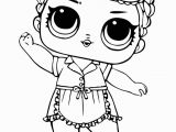 Coloring Pages Lol Dolls Printable Lol Surprise Coloring Sleeping B B with Images