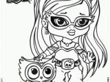 Coloring Pages Monster High Printable Baby Monster High Coloring Pages with Images