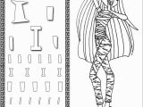 Coloring Pages Monster High Printable Monster High Coloring Pages to Print