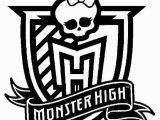 Coloring Pages Monster High Printable Monster High Monster High Logo Coloring Pages Free