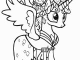 Coloring Pages My Little Pony theme Prince Cadence – My Little Pony