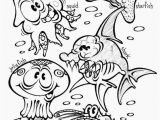 Coloring Pages Ocean Creatures Under the Sea Creatures Coloring Pages Unique Printable Owl Coloring