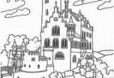 Coloring Pages Of A Castle Printable Castle Coloring Pages Print for the Kids to Color while