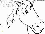 Coloring Pages Of A Horse Head Horse Head Coloring Pages