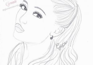 Coloring Pages Of Ariana Grande Ariana Grande Coloring Pages Ariana Grande Coloring Pages Beautiful