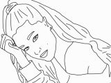 Coloring Pages Of Ariana Grande Exciting Ariana Grande Coloring Pages Coloring for Pretty Ariana