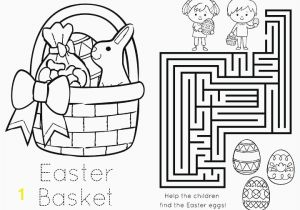 Coloring Pages Of Baby Chicks Baby Chick Coloring Pages Cute Easter Bunny with Egg Basket Easter