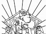 Coloring Pages Of Baby Jesus Printable Coloring Page Bible Christmas Story Bible Christmas Story