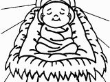 Coloring Pages Of Baby Jesus Printable Free Printable Nativity Coloring Pages for Kids