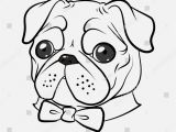 Coloring Pages Of Baby Pugs Download and Print for Free Pug Coloring Pages
