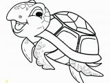 Coloring Pages Of Baby Sea Animals Cute Baby Sea Turtle Coloring Page Free Printable