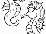 Coloring Pages Of Baby Sea Animals Fun Printable Baby Seahorses Coloring Pages