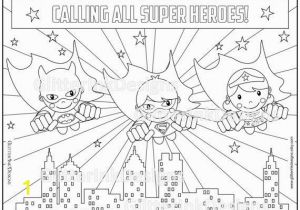 Coloring Pages Of Baby Superman Super Heroes Party Coloring Page with Flying Wondergirl