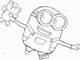Coloring Pages Of Bob the Minion How to Draw Bob the Minion with A Teddy Bear From the Minions Movie