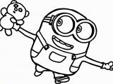 Coloring Pages Of Bob the Minion Minion Girl Drawing at Getdrawings