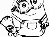 Coloring Pages Of Bob the Minion Minions Coloring Pages Wecoloringpage Pinterest