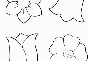 Coloring Pages Of Cartoon Flowers Spring Flowers Coloring Printout Spring Day Cartoon