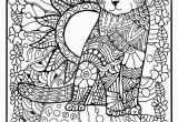 Coloring Pages Of Cats Printable 24 Coloring Pages Featuring Beautifully Intricate Cats and