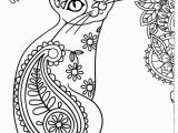 Coloring Pages Of Cats Printable Pin On Adult Color Dog Cat