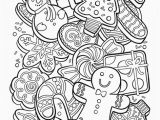 Coloring Pages Of Christmas Cookies Fresh Cookie Cookie Coloring Page