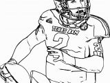 Coloring Pages Of College Football Teams Football Player Coloring Pages Free Nfl Football Player Number 7