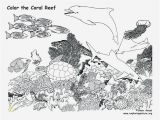 Coloring Pages Of Coral Reefs 20 Beautiful Coral Reef Animals and Plants Coloring Pages