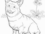 Coloring Pages Of Corgis Free Coloring Pages Of Dog Outline Road Trip Pinterest