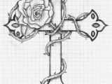 Coloring Pages Of Crosses and Roses Cross with Roses Printable Sheets
