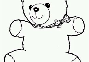 Coloring Pages Of Cute Teddy Bears Teddy Bear Line Drawing at Getdrawings