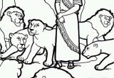 Coloring Pages Of Daniel In the Bible Daniel and the Lions Den Picture Coloring Page Netart
