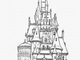 Coloring Pages Of Disney Castle Coloring Pages Disney In 2020