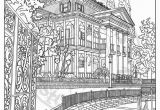 Coloring Pages Of Disney World Disneyland Digital Adult Coloring Page Haunted Mansion