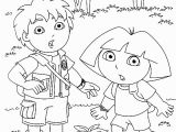 Coloring Pages Of Dora and Diego Diego and Dora9d2f Coloring Pages Printable