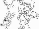 Coloring Pages Of Dora and Diego Dora and Diego Coloring Pages