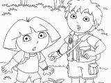 Coloring Pages Of Dora and Diego Print & Download Dora Coloring Pages to Learn New Things