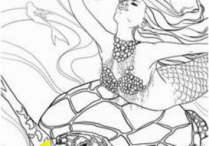Coloring Pages Of Fairies and Mermaids 92 Best Mermaid Colouring Pages Images
