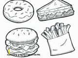 Coloring Pages Of Fast Food Coloring Pages Food Items Healthy Eating List Eating Healthy Food
